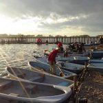 釣り場ボート
